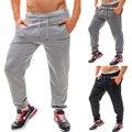 Новый 2016 Мужская Бегуны Мода Гарем Брюки Хип-Хоп Slim Fit Штаны Мужчины брюки свободные брюки MQ424