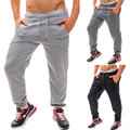 New 2016 Mens Joggers Fashion Harem Pants Trousers Hip Hop Slim Fit Sweatpants Men pant loose pants MQ424