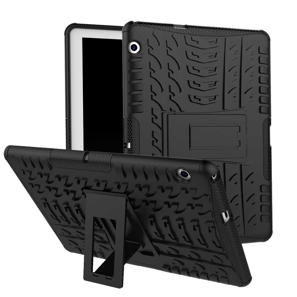 Safe kids Silicon Case For Huawei MediaPad T3 10 AGS-W09 AGS-L09 AGS-L03 T3 9.6 inch Cover Heavy Hybrid Funda Tablet Shell +pen