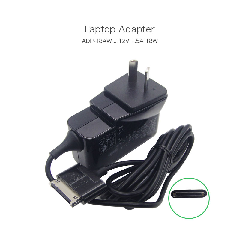 Hot Sale 12V 1.5A 30 Pin 18W Laptop Wall Charger ADP-18AW J 36200011 For Lenovo IDEAPAD K1 10.1 INCH TABLET AU Plug