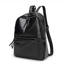 Женская мода рюкзак женщины сумку заклепки сумка Студент рюкзак