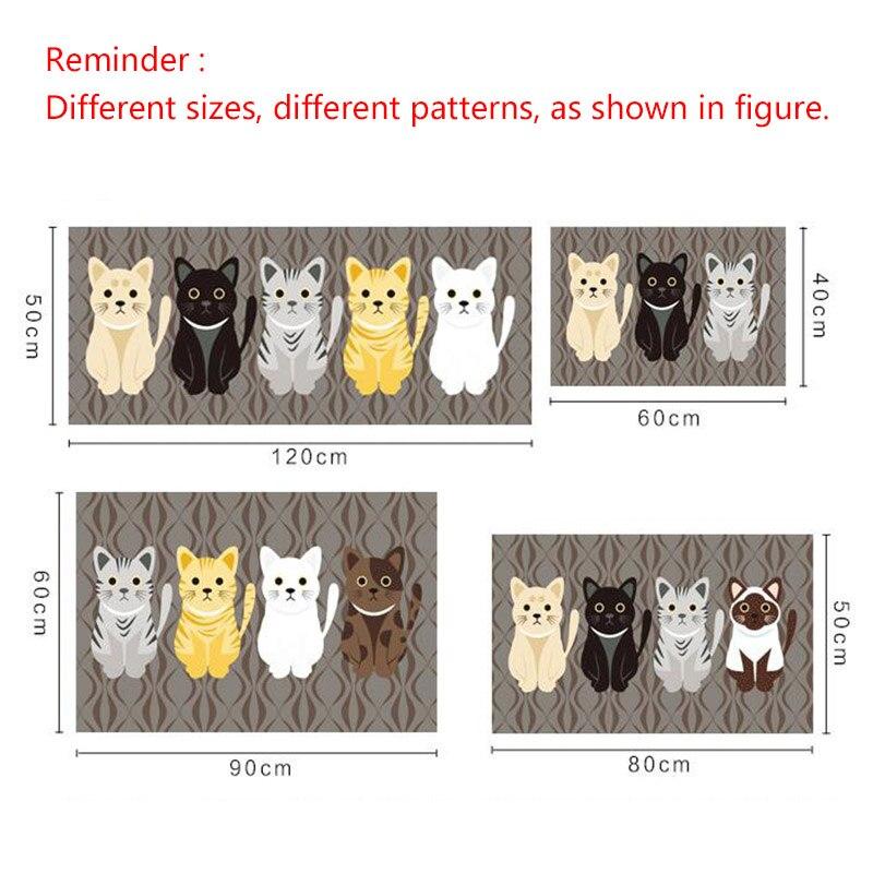 Cat Printed Floor Mats 5