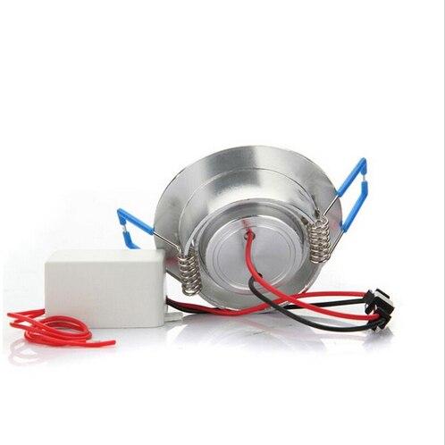 Светодиодный светильник 3 Вт RGB 16 цветов Точечный светильник AC85 265V + ИК пульт дистанционного управления RGB светодиодный потолочный светильни... - 3