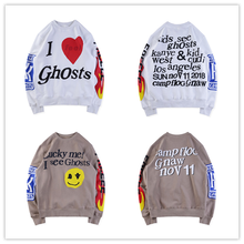 New KANYE WEST KID SEE GHOSTS Men Hoodies Women OVERSIZE 3D Sweatshirts Skateboards Sweatshirts Hip Hip Xxxtentacion Hoodies qoolxcwear kanye west hoodies sweatshirts winter men women hip hop multi colour hoodies fleece sweatshirts