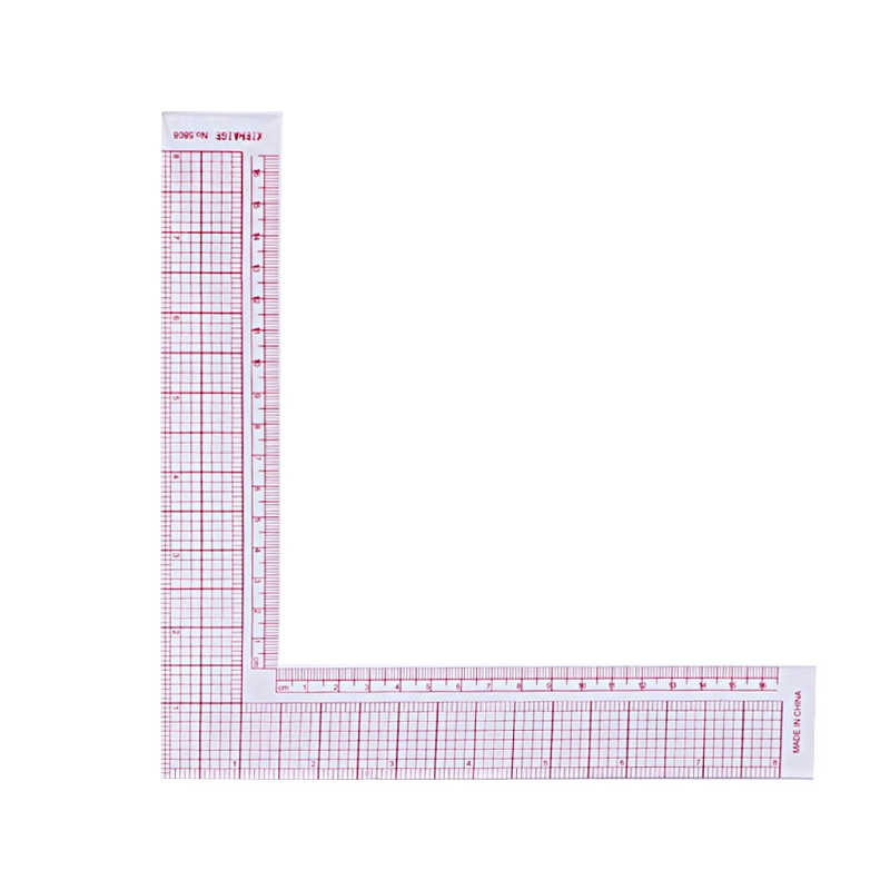 Plastic Sewing Square Curve Ruler Tailor Drawing Craft Tool Diy Supply Tool