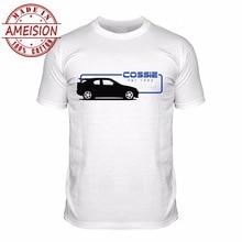 2019 Short Sleeve O-Neck 100% Cotton Cossie Escort Sportser Racer Car Rally 90S Tee Retro Custom Design Shirts все цены