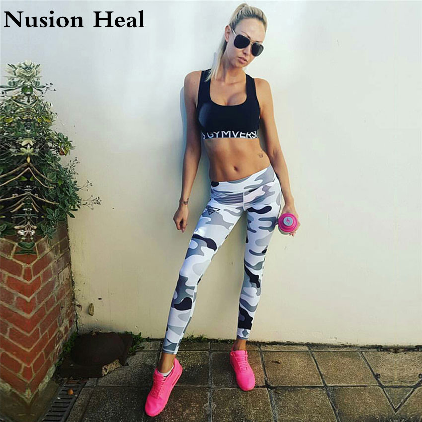 2018 Womens Yoga Pants High Elasticity High Waist Yoga Leggings for Women Hip Up Fitness Sport Leggings Women Gym Running Tights