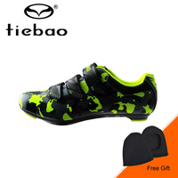 Tiebao New Winter Bike Bicycle Shoes Men Outdoor Road Cycling Shoes Highway Riding Shoes Auto Lock