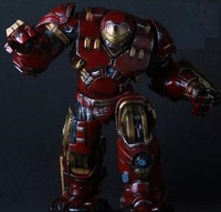 High Quality Battle Damage Hulkbuster Rotation Articulation Iron Man Hulk Buster Avenger Age of Ultron 40CM PVC Action Toys 097