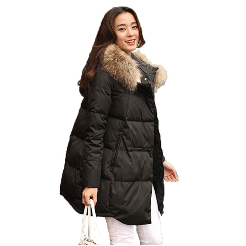 Hot sale 2016 winter women Coats & Jackets Fur collar ...