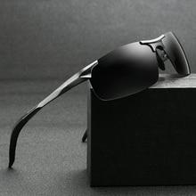 XIWANG Sunglasses New Polarized Aluminum Magnesium Alloy 2019 Fashion Personality Mens Sports Driving Glasses Fishing