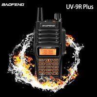 Baofeng UV 9R Plus Handheld Walkie Talkie 8W 2800mAh Dual Band IP67 Waterproof Two Way Radio