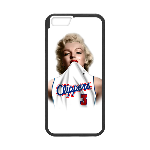 Los Angeles Clippers Player Marilyn Monroe Jerseys - Chris Paul protector  for iPhone 6 4.7 case 4ce4ae82f