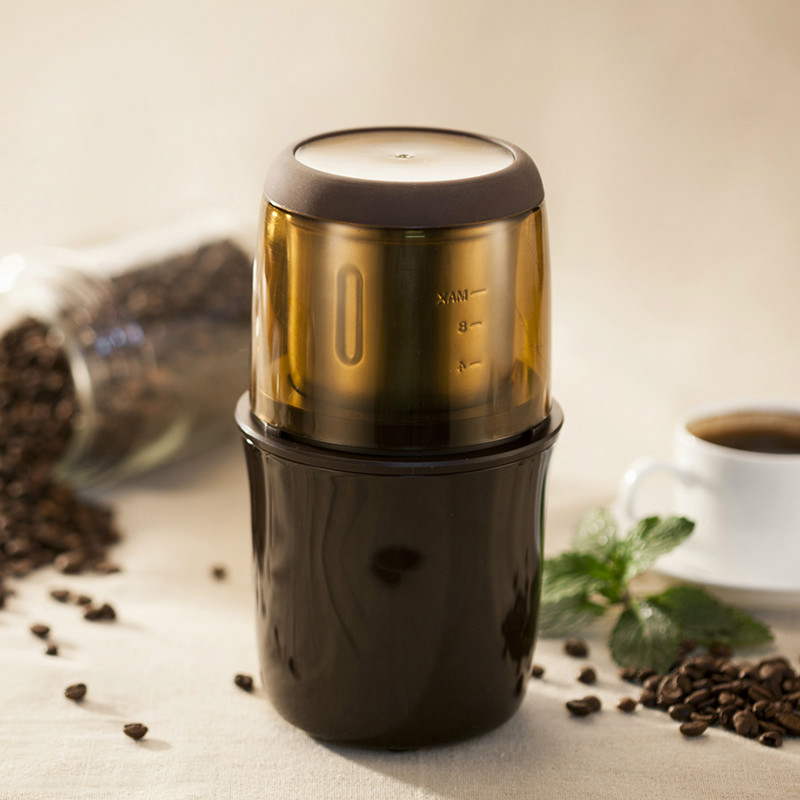 Coffee Grinders The household electric grinder mill small multi-function pulverizer ultra-fine dry grind the mill girl