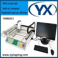 TVM802B S с направляющей Универсальный JUKI сопла SMT СВЕТОДИОДНЫЙ поверхностного монтажа SMD размещения Палочки и место машина