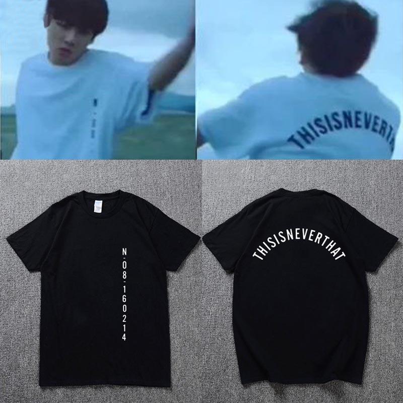 2018 SAVE ME Fitness T Shirt Women Men KPOP Bangtan Unisex T Shirt JUNGKOOK Same Album Couple T-Shirts Cotton