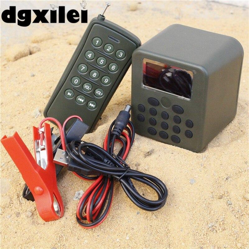 50W 150dB DC 12V Bird Hunting Caller Speaker MP3 Player Remote Control For Bird Hunting dc 12v remote control 50w bird hunting device for hunting