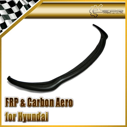 Nuevo Para Hyundai Veloster Fibra De Vidrio FRP Parachoques Delantero Labio Inferior Sólo Fit Turbo Del Coche Accesorios Car Styling