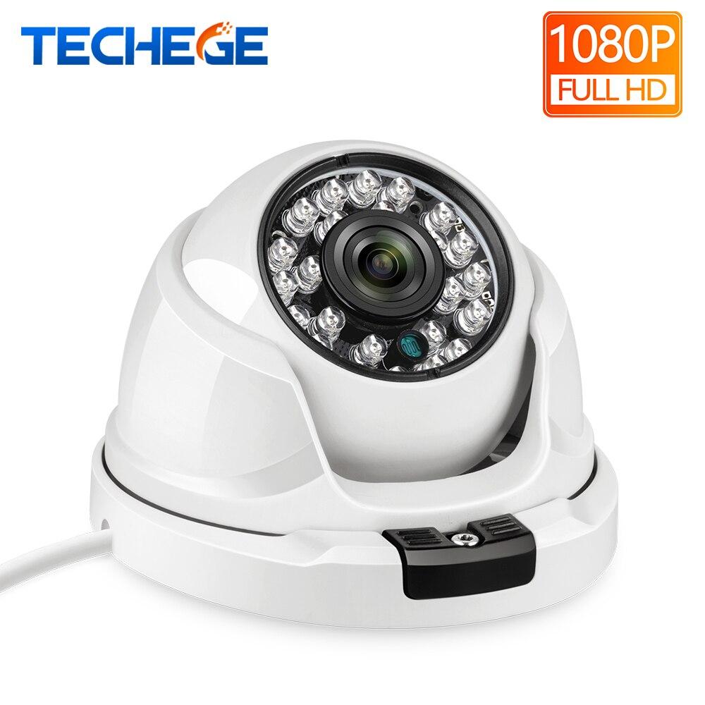 Techege 2.8 MILÍMETROS Wide Angle Lens 1080P Câmera IP 2MP Dome Câmera de Segurança ONVIF FTP Do Corpo de Metal IR Night visão Câmera de CCTV 1080P