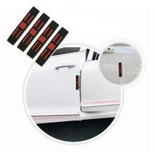 PVC Silicone Car Door Edge Anti-Collision Strip Rectangular Stripe Universal Anti-friction Protection