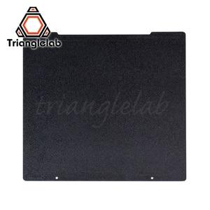 Trianglelab 241x252 Двусторонняя текстурированная пей Рессорная сталь лист с порошковым покрытием пей сборки пластины для Prusa i3 MK2.5S mk3 MK3S