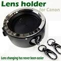Brand New COMLYO By ajudante equipamentos flipper lente Rápida mudança de ferramenta rápida dupla suporte para Câmera Canon Acessórios