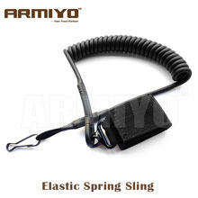 Bargain Armiyo Tactical 1 Point Pistol Airsoft Gun Spring Lanyard Sling Harnesses Quick Release Hunting Pouches Accessories deliver