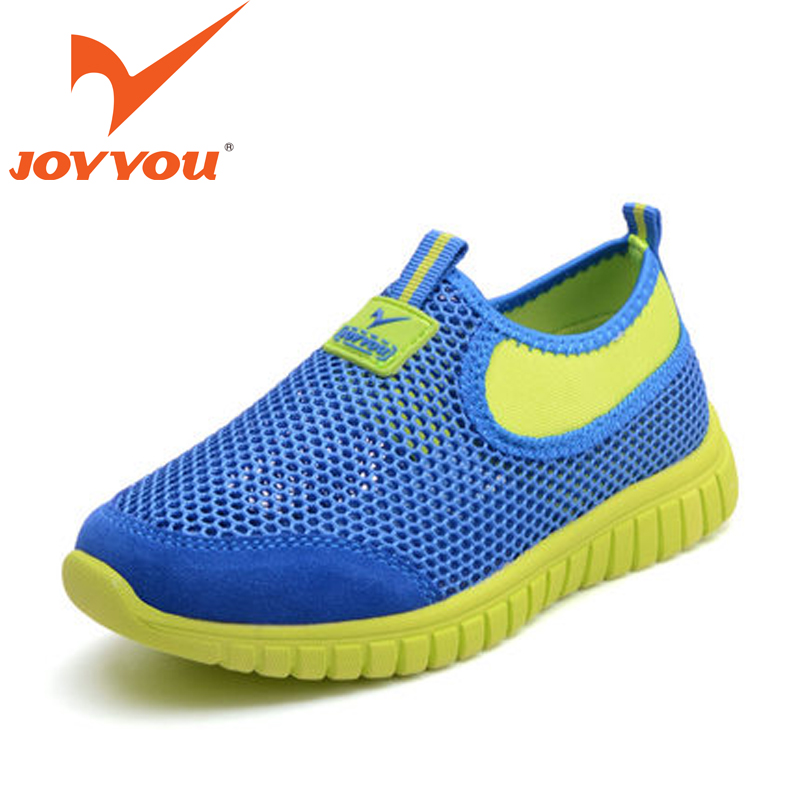JOYYOU Brand Child Casual font b Shoes b font Suede Leather Air Mesh Kids font b