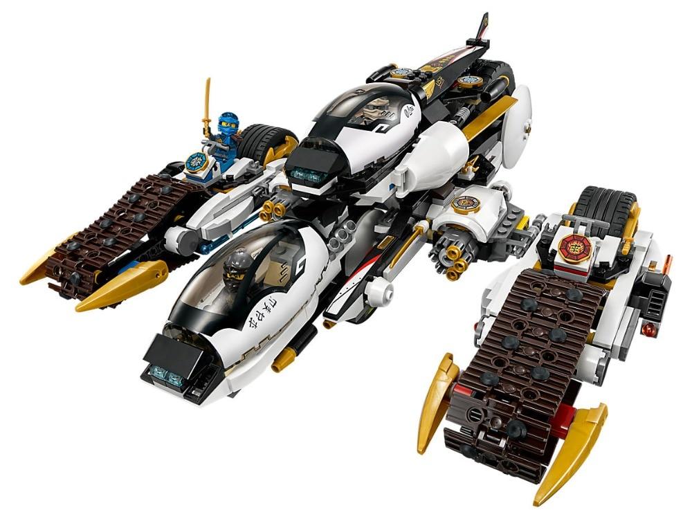Lepin Ninjagoe Movie 1167pcs Building Blocks toys for Childrens Bricks Ultra Stealth Raider gift Compatible Legoe Ninjagoe 70595