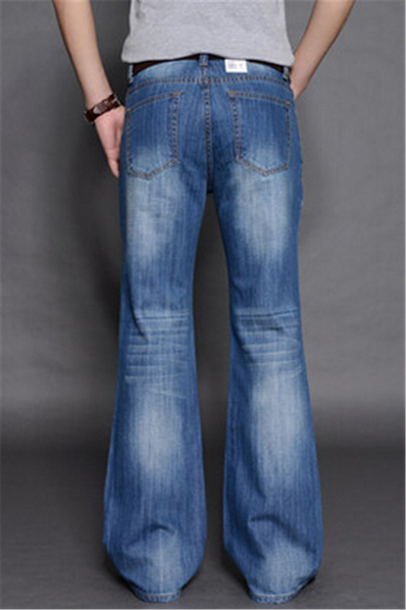 Aliexpress.com : Buy New Arrival 2014 Mens Flared Jeans Men's Bell ...