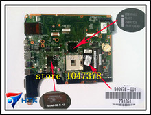 Wholesale 580976-001 Laptop motherboard For hp pavilion DV6 With NVDIA Graphics Card DDR3 DA0UP6MB6F0 100% Work Perfect