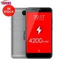 5.5 дюймов Ulefone Тигр Android 6.0 Мобильный Телефон MTK6737 Quad Core 2 ГБ RAM 16 ГБ ROM 8MP HD 1280x720 Отпечатков Пальцев Смартфон 4 Г LTE