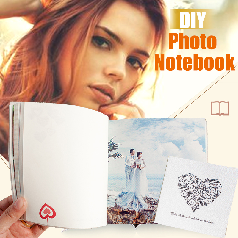 Creativity Albums Notebook Custom Private Notepad Printed Notebook Tide Memorial Book Diary  Wedding gifts Wedding Decoration xeltek private seat tqfp64 ta050 b006 burning test