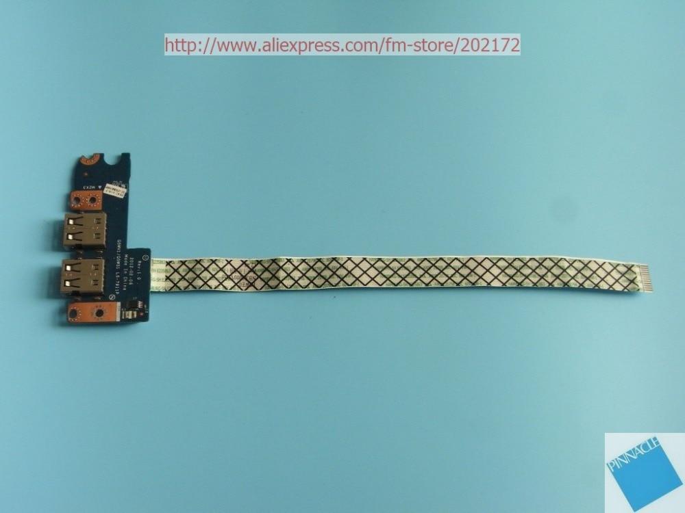 LS-7911P USB junta para Acer Aspire V3-531 V3-551 V3-571 V3-571G NV56 NV56R10u funciona bien
