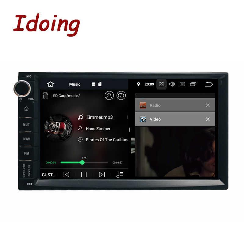 """Idoing 7 """"PX5 4 Gb di Ram 32G Rom 8 Core Universale 2Din Car Android 8.0 Radio Lettore Ips dello Schermo di Gps di Navigazione Multimediale Bluetooth"""