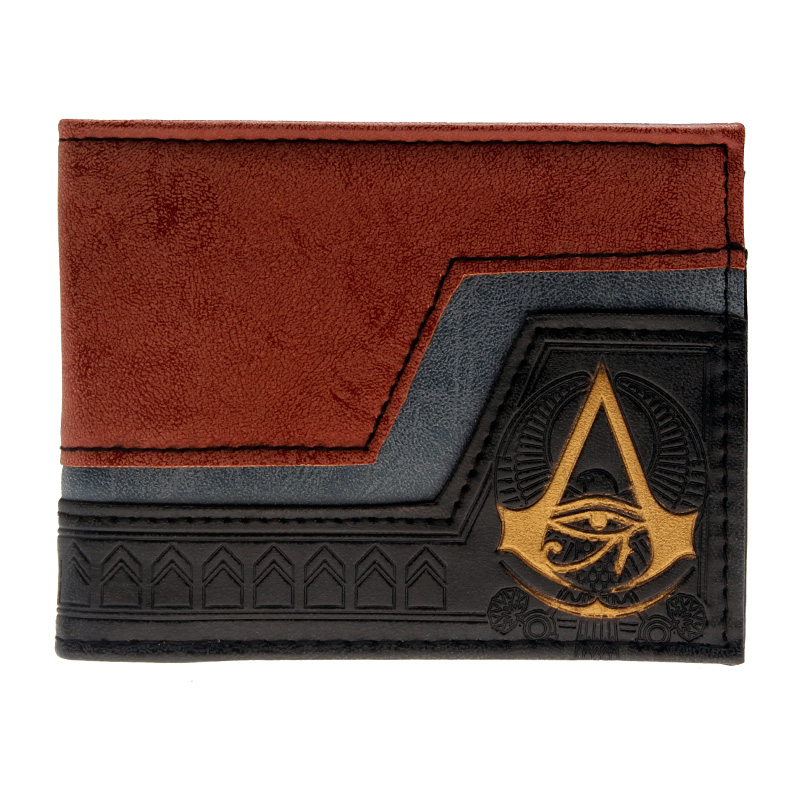 Juego Assassins Creed wallet Men Wallet Small Vintage Wallet Brand High Quality Designer Short Purse DFT-2179 italian style fashion men s jeans shorts high quality vintage retro designer classical short ripped jeans brand denim shorts men