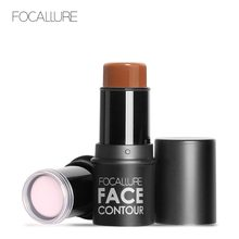 Focallure Highlighter Face Bronzers Pen Cosmetic Shimmer Illuminator Waterproof Glitter highlighter pencil Makeup(China)