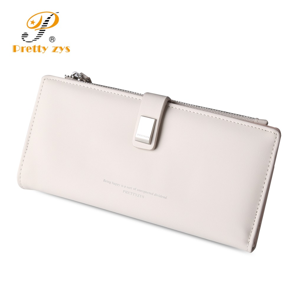 3 SIZE 2017 Fashion Women Leather Wallet Short Long Clasp Lovely Girl's Coin Purses Clutch Card Holder Big Capacity Phone Pocket