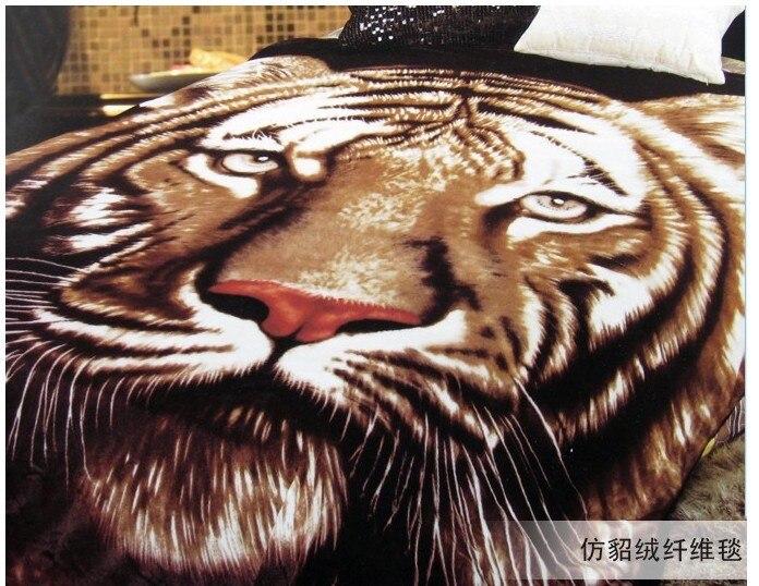 Online Kopen Wholesale Tijgerprint Deken Uit China