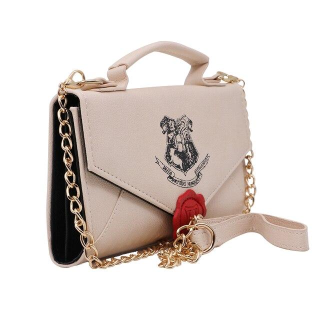 New Harry Potter Letter To Hogwarts Assistant Clutch Handbag Shoulder Bag Chain