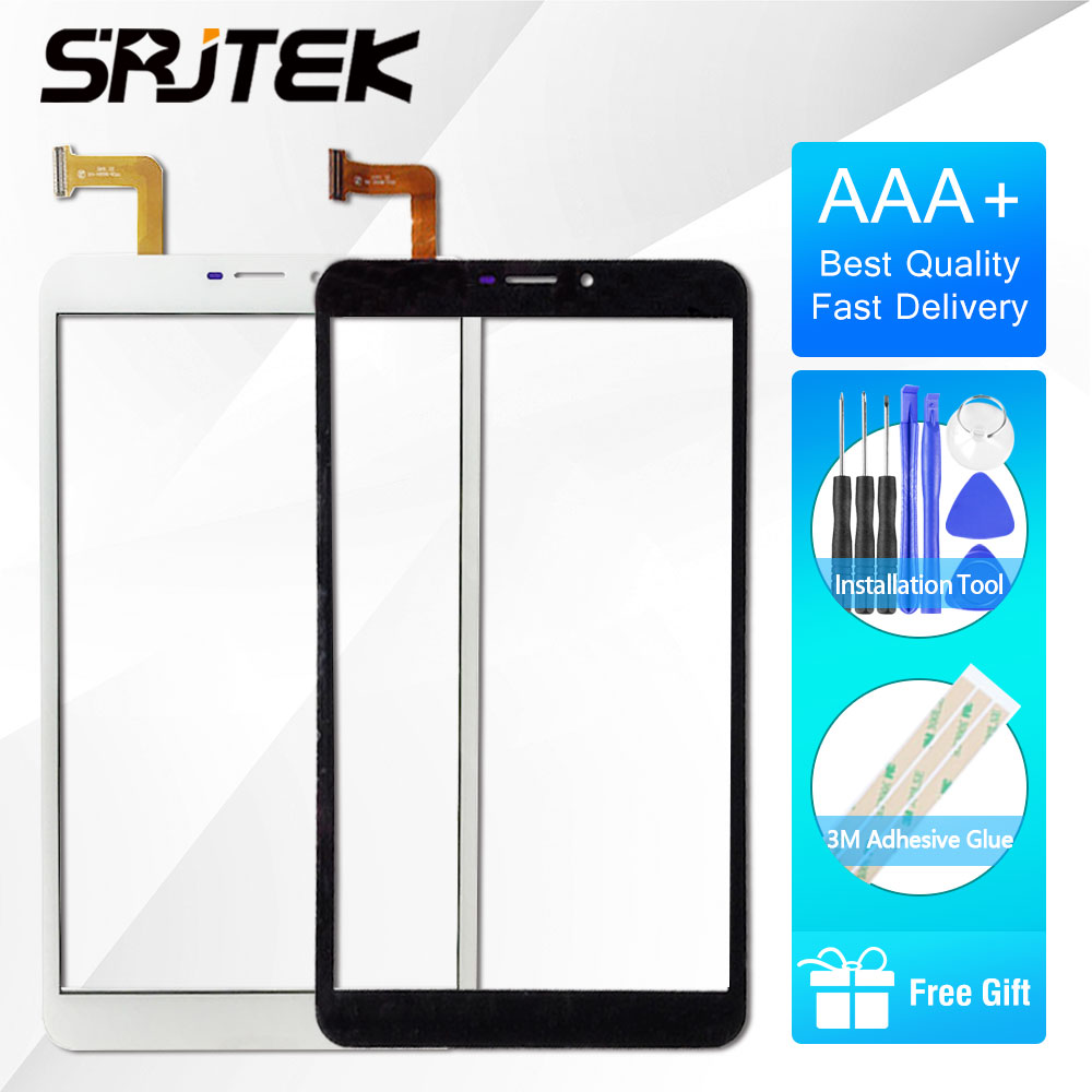 SRJTEK 8 Tactile Pour Haier G800 Testé Nouveau Tablet PC Écran Tactile Numériseur Remplacement Du Capteur Capteur Pour Haier g800