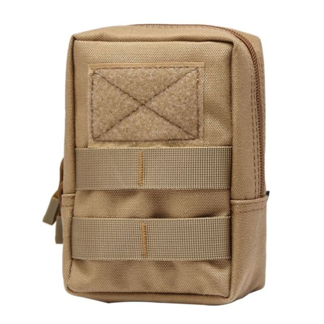 760f87c66e47 Tactical Molle Bag 600D Nylon Pouch Portable Outdoor Mobile Phone Wallet Travel  Military Sport Waist Pack