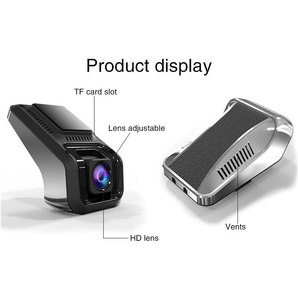 Single Camera Dash Cam ADAS Electronic Dog Alloy 1080P Full HD Navigation USB Recorder Mini Hidding Camera for Car Recording U8 in DVR Dash Camera from Automobiles Motorcycles