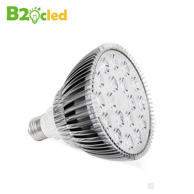 High quality circular plant growth lamp blossom fruit seedling and egetables succulent plants led grow light red blue light E27