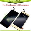 """5.0 """"1280*720 Display LCD Touch Screen Do Painel De Vidro Substituição Para UMI Londres Assembléia Módulo Completo"""