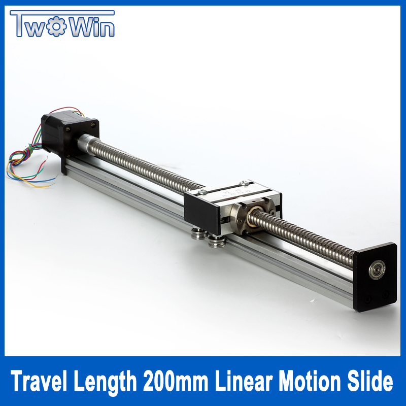 Linear Motion System : Aliexpress buy ballscrew linear actuator travel
