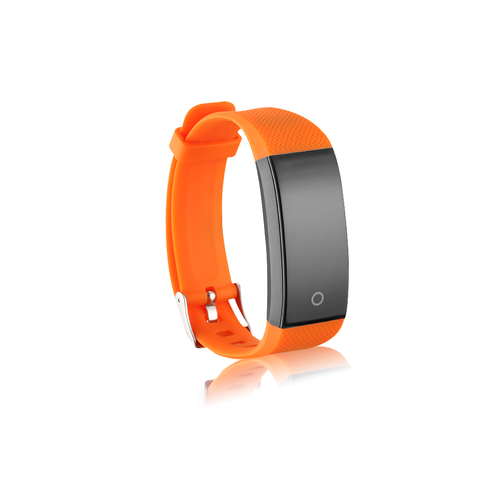2019 New Arrival QW18 Wearable Devices IP67 Heart Rate Tracker Passometer Sport Color LCD Smart Wristband in Smart Wristbands from Consumer Electronics