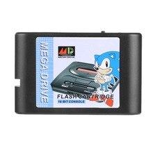 2018 New Multi Games Cartridge MD Game Card For Sega Mega Drive Super Street Fighter II VR Racing