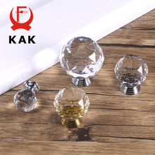 KAK Fashion Crystal Cabinet Knobs and Handles Colorful Dresser Drawer Kitchen Furniture Handle Hardware
