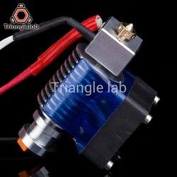 Trianglelab Highall-металл v6 hotend 12 В/24 В удаленного Боуэн принтом J-головки Hotend и вентилятор охлаждения кронштейн для E3D HOTEND для PT100